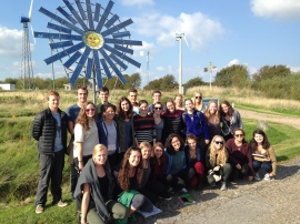 My Sustainability in Europe classmates at the Nordic Folkecenter for Renewable Energy