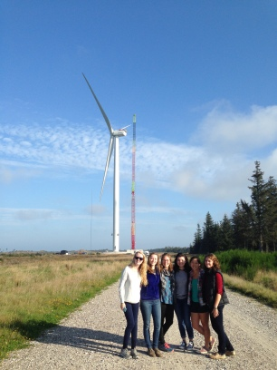 The largest wind turbine in the world @ Østerild - National Test Centre for Large Wind Turbines